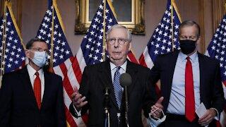 GOP Leader Mitch McConnell Acknowledges Biden Victory