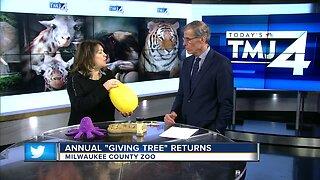Milwaukee County Zoo Giving Tree returns