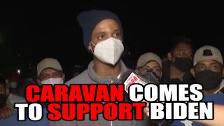Honduran Caravan , Biden Supporters, Race to America