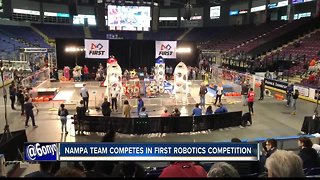 NAMPA TEAM COMPETES IN FIRST ROBOTICS COMPETITION
