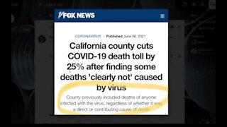California County Cuts Covid Death Toll By 25%