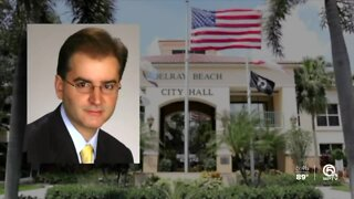 Suspended city manager fires back