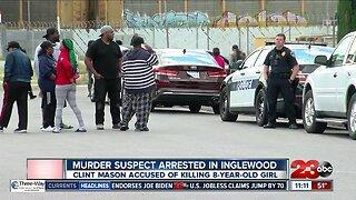 Murder suspect arrested in Inglewood