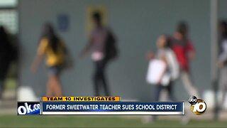Former Sweetwater teacher sues school district