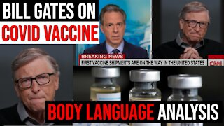 Body Language Analysis of Bill Gates on Covid Vaccine and Getting Back to Normal