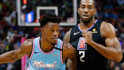 Kawhi Leonard SERIOUSLY Considering Leaving Clippers To Join Jimmy Butler & Bam Adebayo In Miami