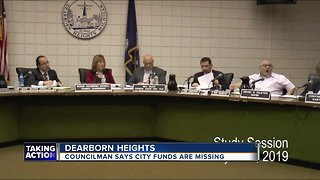 Dearborn councilman says money is missing