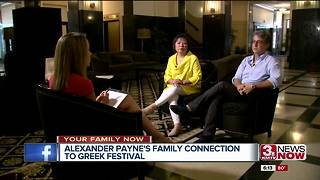 Alexander Payne promotes Greek Festival