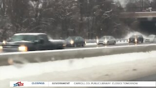 Snow update from Baltimore County
