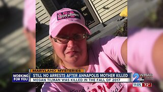 Still no arrests made after Annapolis mother was killed