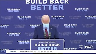 Presidential candidate Joe Biden visits Florida