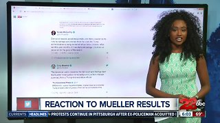 Political leaders react to results of the Mueller report