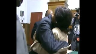 WATCH: Maxine Waters Hugs Leader of Nation of Islam Louis Farrakhan