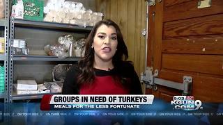 Donate a turkey to feed Tucson Families