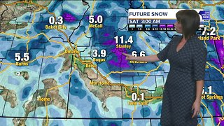Winter-like conditions could make for tricky Thanksgiving travel