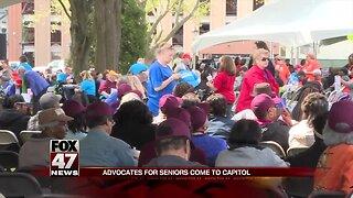 Michigan seniors press lawmakers for action