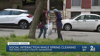 Community cleanups offer safe social interaction