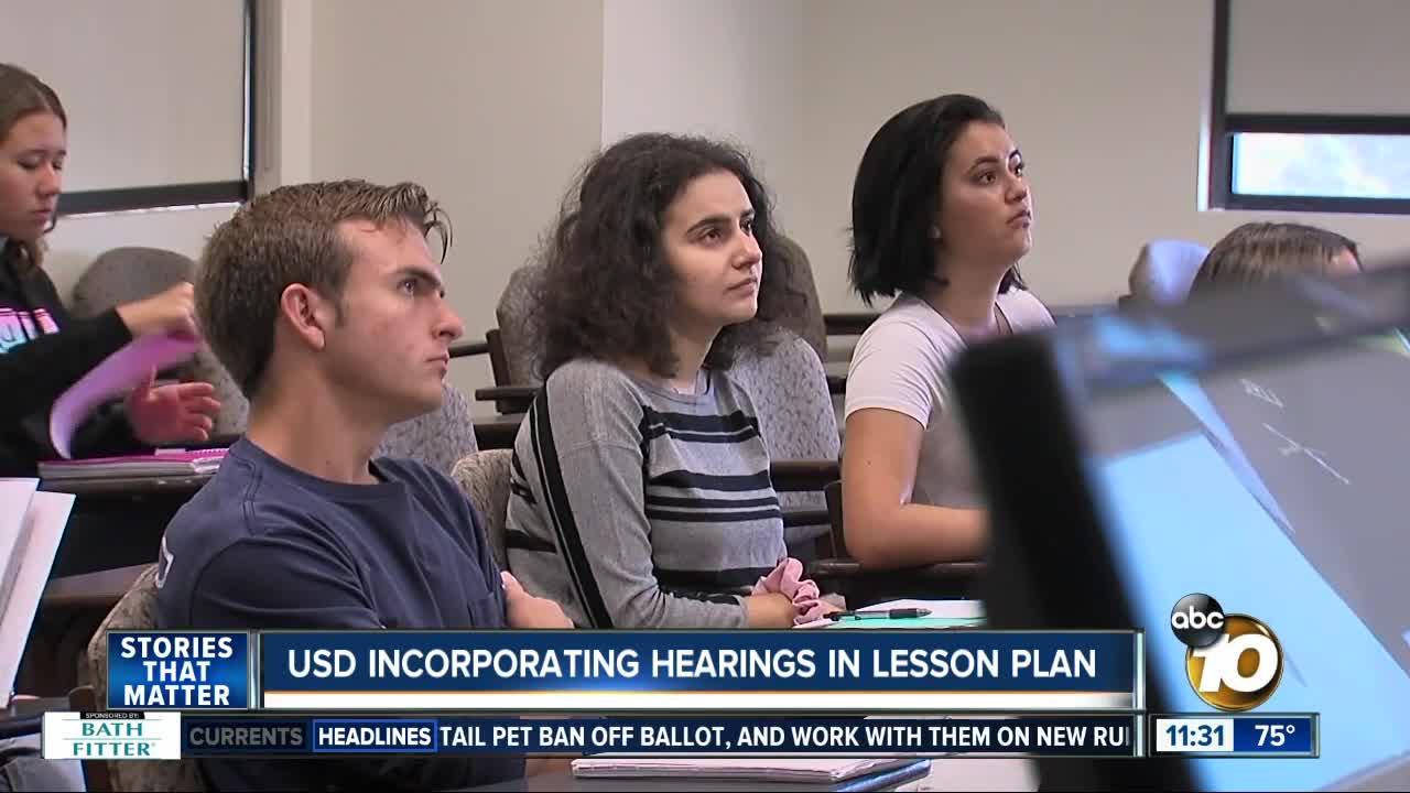 Professors teach with impeachment inquiry