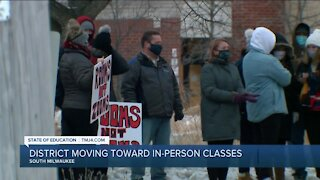 4 Milwaukee-area school districts move towards in-person learning