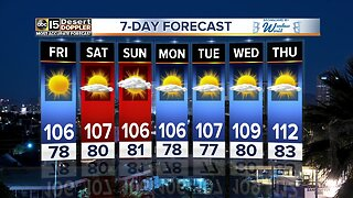Beautiful weekend weather ahead around the Valley