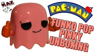 Pac Man Ghost Pinky Funko Pop Unboxing