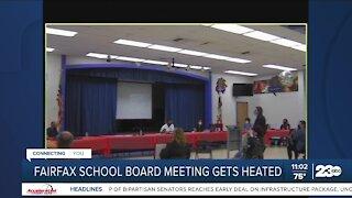 Fairfax School Board Meeting Becomes Heated