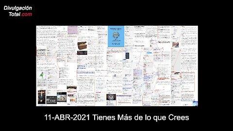 11-ABR-2021 Tienes Más de lo que Crees
