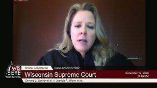FINALLY ONE REASONABLE JUDGE! Wisconsin Supreme Court