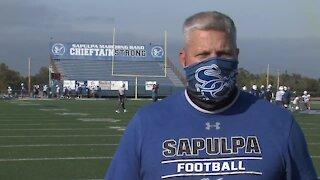 Interview with Sapulpa Head Coach Robert Borgstadt