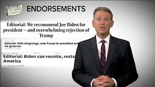The influence of endorsements on the presidential election