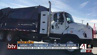 Kansas City prepares for citywide trash services
