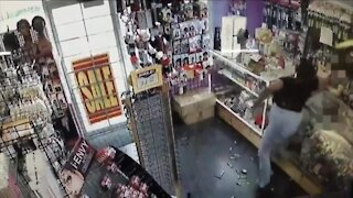Caught on camera: Woman brutally attacks Cleveland store owners over $11 purchase