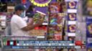 Kern County FIre Department goes over firework safety