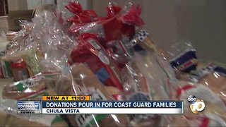 Chula Vista man collects donations for Coast Guard families affected by government shutdown