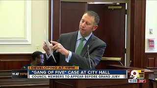 City Council 'Gang of Five' subpoenaed Monday night