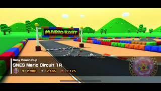 Mario Kart Tour - SNES Mario Circuit 1R Gameplay