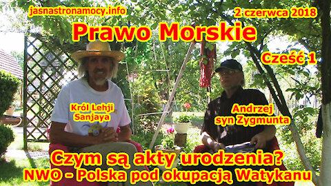 PRAWO MORSKIE - Czym są akty urodzenia NWO - Polska pod okupacją Watykanu. CZĘŚĆ 1