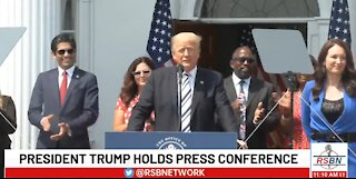 President Trump Files MAJOR Class Action Lawsuit against Big Tech (Spanish Subtitles)