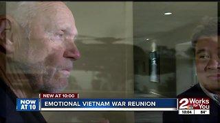 Emotional Vietnam War reunion