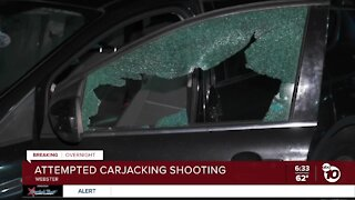 Shots fired during attempted carjacking