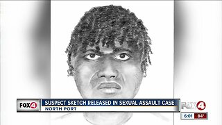 Sketch released of rape suspect in North Port