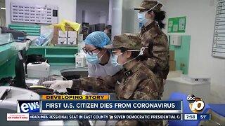 First U.S. citizen dies from coronavirus