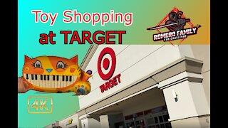 Toy Shopping at Target
