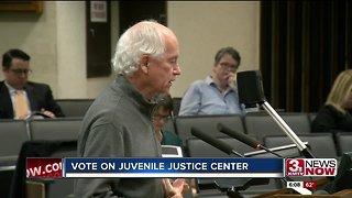 Vote on juvenile justice center