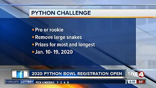 2020 Python Bowl registration open