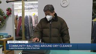 Community rallying around dry cleaner