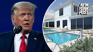Donald Trump lists oceanfront Palm Beach mansion for $49 million