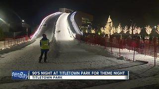 Theme night at Titletown Park