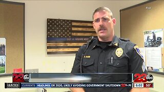 Bakersfield police officer charged with DUI after motorcycle crash