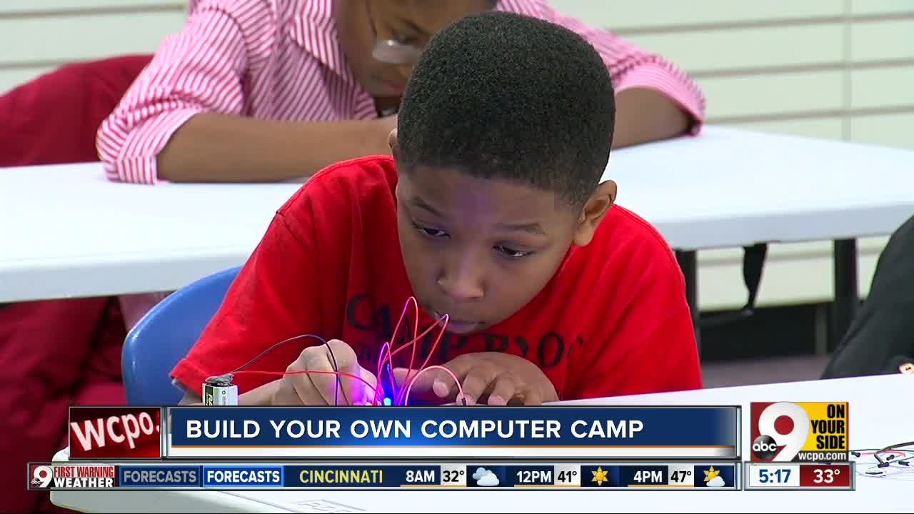 Build your own computer camp
